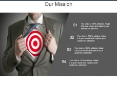 Our Mission Template 2 Ppt PowerPoint Presentation Ideas Background Images