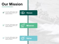 Our Mission Values Ppt PowerPoint Presentation Infographic Template Professional