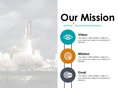 Our Mission Vision And Goal Ppt PowerPoint Presentation Pictures Background Images