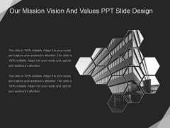 Our Mission Vision And Values Ppt PowerPoint Presentation Diagrams