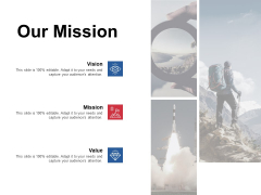 Our Mission Vision Goal Ppt PowerPoint Presentation Gallery Graphics