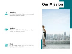 Our Mission Vision Goal Ppt PowerPoint Presentation Icon Display