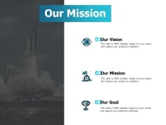 Our Mission Vision Goal Ppt PowerPoint Presentation Icon Show