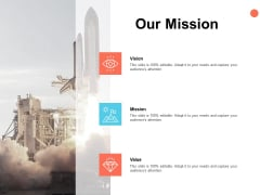 Our Mission Vision Goal Ppt PowerPoint Presentation Ideas Mockup