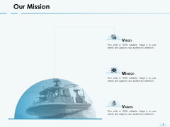 Our Mission Vision Goal Ppt PowerPoint Presentation Ideas Slideshow