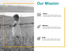 Our Mission Vision Goal Ppt PowerPoint Presentation Infographics Outline