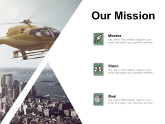 Our Mission Vision Goal Ppt PowerPoint Presentation Layouts Slideshow