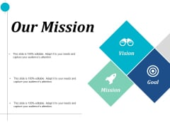 Our Mission Vision Goal Ppt PowerPoint Presentation Model Picture