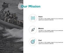 Our Mission Vision Goal Ppt PowerPoint Presentation Model Pictures
