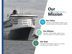 Our Mission Vision Goal Ppt PowerPoint Presentation Outline Graphics Tutorials
