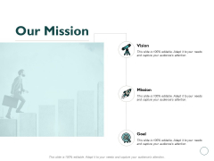Our Mission Vision Goal Ppt PowerPoint Presentation Outline Layout