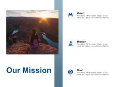 Our Mission Vision Goal Ppt Powerpoint Presentation Portfolio Portrait