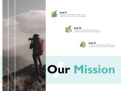 Our Mission Vision Goal Ppt PowerPoint Presentation Professional Model
