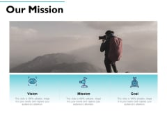 Our Mission Vision Goal Ppt PowerPoint Presentation Styles Objects