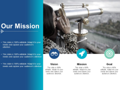 Our Mission Vision Goal Ppt PowerPoint Presentation Styles Slides