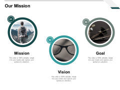 Our Mission Vision Goal Ppt PowerPoint Presentation Summary Maker