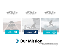 Our Mission Vision Goal Strategy Ppt Powerpoint Presentation Professional