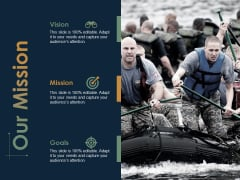 Our Mission Vision Goals Ppt PowerPoint Presentation Model Slides