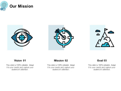 Our Mission Vision Goals Ppt PowerPoint Presentation Samples