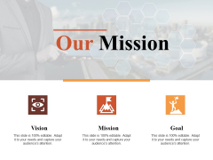 Our Mission Vision Ppt PowerPoint Presentation File Gridlines