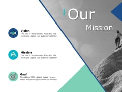 Our Mission Vision Ppt PowerPoint Presentation Gallery Model