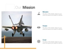 Our Mission Vision Ppt PowerPoint Presentation Icon Format Ideas