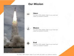 Our Mission Vision Ppt PowerPoint Presentation Infographics Elements
