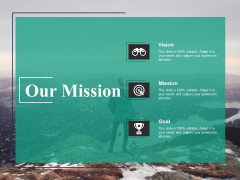Our Mission Vision Ppt PowerPoint Presentation Model Professional