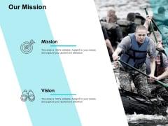 Our Mission Vision Ppt PowerPoint Presentation Portfolio Icon