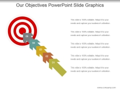 Our Objectives Powerpoint Slide Graphics