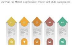 Our Plan For Market Segmentation Powerpoint Slide Backgrounds