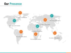 Our Presence Ppt PowerPoint Presentation Layouts Elements