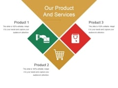 Our Product And Services Template 2 Ppt PowerPoint Presentation File Format