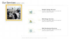 Our Services Design Company Profile Ppt Inspiration Graphics Tutorials PDF