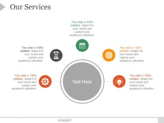 Our Services Ppt PowerPoint Presentation Example File