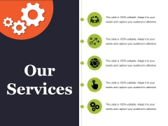 Our Services Ppt PowerPoint Presentation Inspiration Icon
