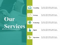Our Services Ppt PowerPoint Presentation Outline Files