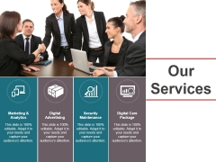 Our Services Ppt PowerPoint Presentation Professional Ideas