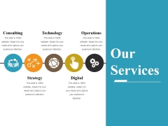 Our Services Ppt PowerPoint Presentation Styles Model