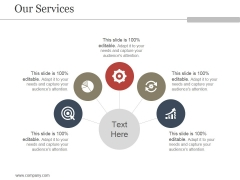 Our Services Ppt PowerPoint Presentation Templates