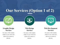 Our Services Template 1 Ppt PowerPoint Presentation Infographic Template Ideas