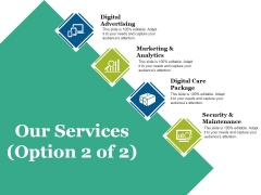 Our Services Template 1 Ppt PowerPoint Presentation Model Picture