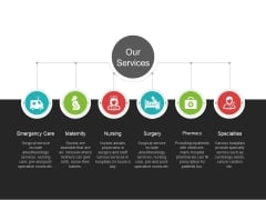 Our Services Template 2 Ppt PowerPoint Presentation Outline Infographics