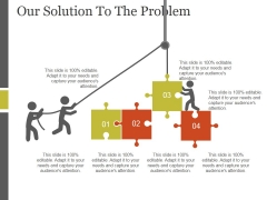 Our Solution To The Problem Template 2 Ppt PowerPoint Presentation Ideas
