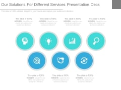 Our Solutions For Different Services Presentation Deck