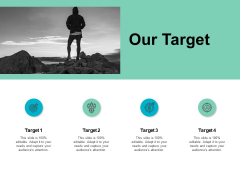 Our Target And Acheivement Ppt PowerPoint Presentation Portfolio Maker