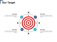 Our Target Competitive Differentiation Ppt PowerPoint Presentation Show Backgrounds