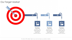 Our Target Market Startup Business Strategy Ppt Outline Microsoft PDF