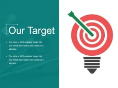 Our Target Ppt PowerPoint Presentation Model Gridlines