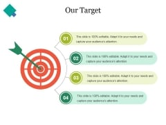 Our Target Ppt PowerPoint Presentation Model Structure